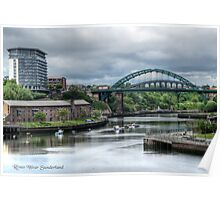 River Wear Sunderland Poster