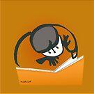 Curious Reader by mindprintz