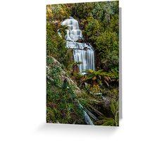 Fainter Falls - Bogong Victoria Greeting Card