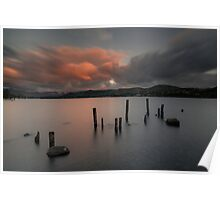 The Old Jetty on Ullswater Poster