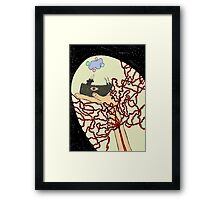 Voyage of a colorful life Framed Print