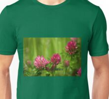 Simple beauty of red clover Unisex T-Shirt
