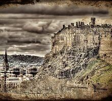 Edinburgh Castle by Ian Jeffrey