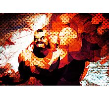 The Russian Wrestler 2 Photographic Print