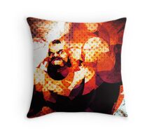 The Russian Wrestler 2 Throw Pillow