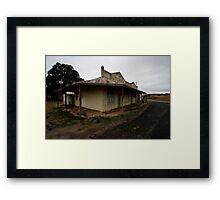 Butcher, Draper, Grocer, Lue, NSW Framed Print