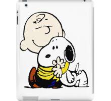 Charlie Brown Loves Snoopy Hug iPad Case/Skin