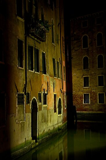 Venice Night Mood, Italy by Giles Clare