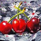 Very Cherry Delight by Paula Oakley
