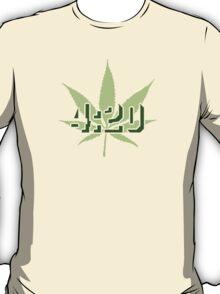 4:20 - Legalize Cannabis T-Shirt