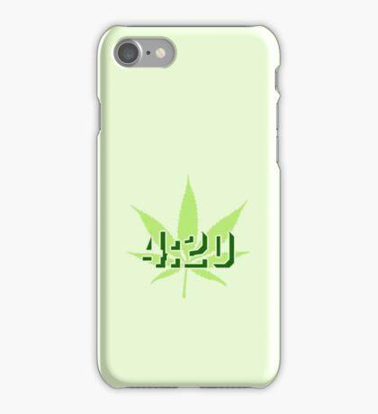 4:20 - Legalize Cannabis VRS2 iPhone Case/Skin
