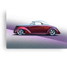 1937 Ford Roadster - Studio Profile Canvas Print