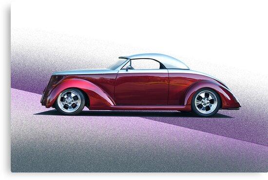 1937 Ford Roadster - Studio Profile by DaveKoontz