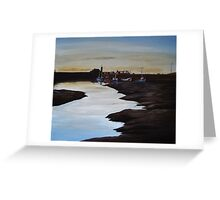 Whitehaven Harbour Greeting Card