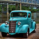 1938 Chevrolet Pickup Truck Hot Rod by TeeMack