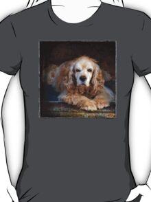 Whiskey, Orange Roan Cocker Spaniel T-Shirt