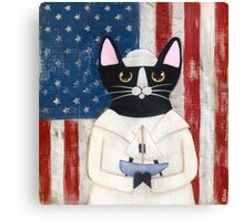 American Sailor Canvas Print