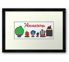 The Avengebirbs Framed Print
