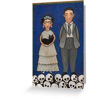 Frida and Diego Greeting Card