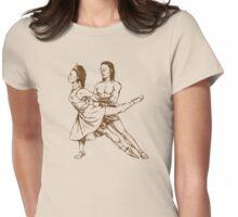 Ballet Dancers Womens Fitted T-Shirt