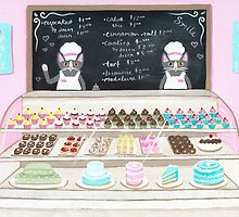 The Pastry Shoppe Cats by Ryan Conners