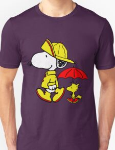 Raining Snoopy and Woodstock T-Shirt