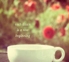 each dawn is a new beginning by Kelly Letky