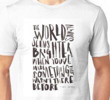 Brighter World Unisex T-Shirt