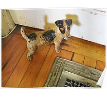 A Registered Door Dog Poster