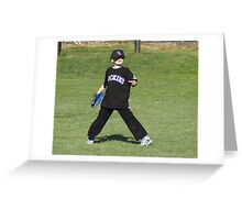 Center Field Greeting Card