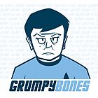 Grumpy Bones by Chris Maghintay