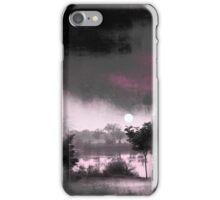 Lake in morning light iPhone Case/Skin