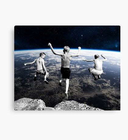 Free Falling Canvas Print