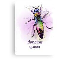 Dancing Queen (Bee) Shirt Canvas Print