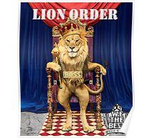 Dj Khaled Lion Order parody  Poster