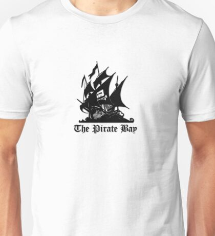 The Pirate bay (black) Unisex T-Shirt