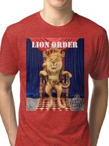 Dj Khaled Lion Order parody  Tri-blend T-Shirt