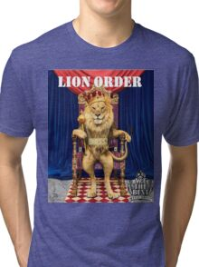 Dj Khaled Lion Order parody  Tri-blend T-Shirt