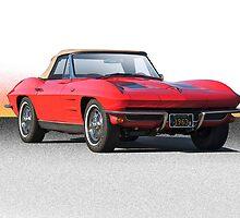 1963 Corvette Roadster by DaveKoontz