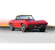 1963 Corvette Roadster Photographic Print