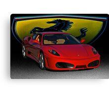Ferrari F430 Scuderia III Canvas Print