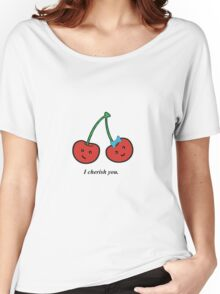 cherry love Women's Relaxed Fit T-Shirt