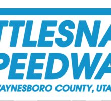Rattlesnake Speedway - Inspired by Bruce Springsteen's 'The Promised Land' Sticker
