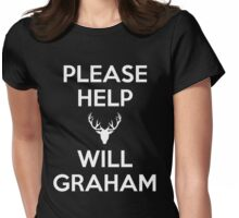 Please Help Will Graham Womens Fitted T-Shirt