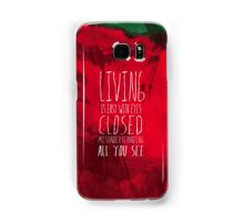 Strawberry Fields Forever - The Beatles - Lyric Poster Samsung Galaxy Case/Skin