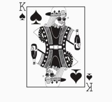 Contemporary King of Spades by aikong