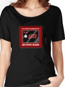 Button Mash Women's Relaxed Fit T-Shirt
