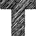 Sketchy Letter Series - Letter T by JHMimaging