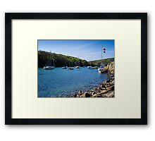 Solva Harbour Framed Print