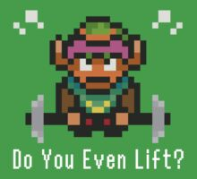 Do You Even Lift? 16-bit Link Edition by JDNoodles